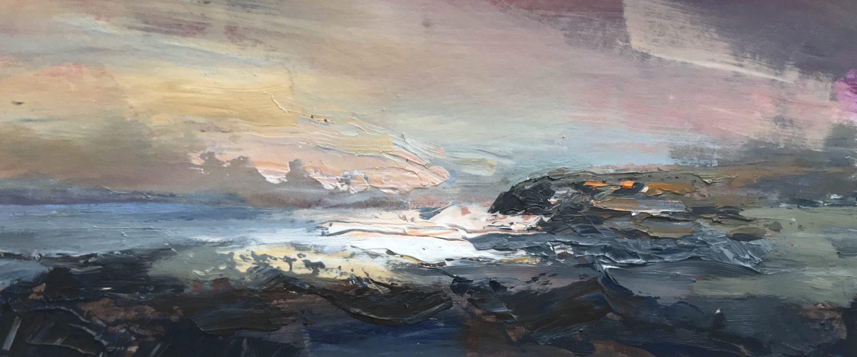 'Wild Ceredigion North Acrylic on Board