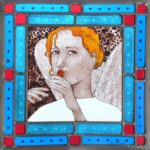 'Angel' Stained Glass
