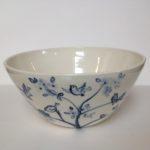 Porcelain Bowl Twittering Birds