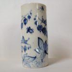 Porcelain Beaker Flower Design