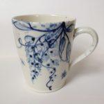 Porcelain Mug Wisteria & Bees