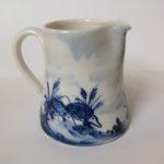 Porcelain Concave Jug 'Hedgehogs'