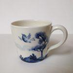 Porcelain Expresso Mug Birds