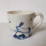 Porcelain Expresso Mug Hare