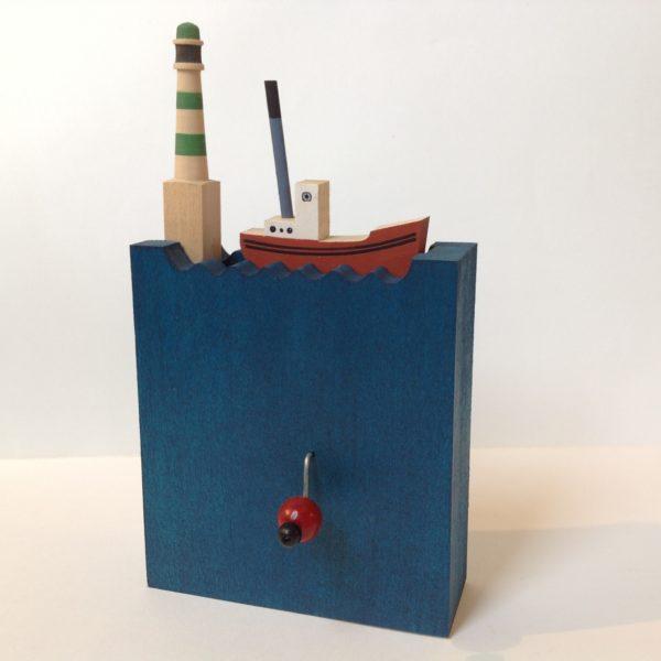 Wooden Automata 'Mal de Mer 1'