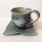 Vapour Glaze Cup & Saucer