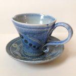 Vapour Glaze Coffee Cup & Saucer