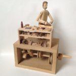 The Carpenter Wooden Automata