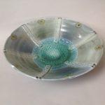 Vapour Glaze Shallow Bowl