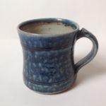 Salt Glaze Blue Mug