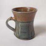 Salt Glaze Sage & Fawn Mug