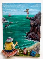 Cliffhanger Recycled Mixed Media