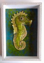 SeahorseMixed Media Art