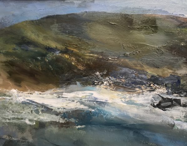 Spring Tide Acrylic on Paper