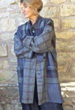 Bali Coat in Harris Tweeds