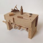 Carpenters Bench Wooden Automata