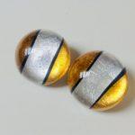 Acrylic Dome Clip Earrings