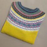 Lambswool Eribe Alpine Sweater in Piccalilli