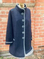Felted Merino Wool A-Line Jacket