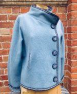 Felted Merino Wool Boxy Jacket