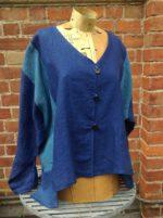 Dublin Shirt in Blue Linen