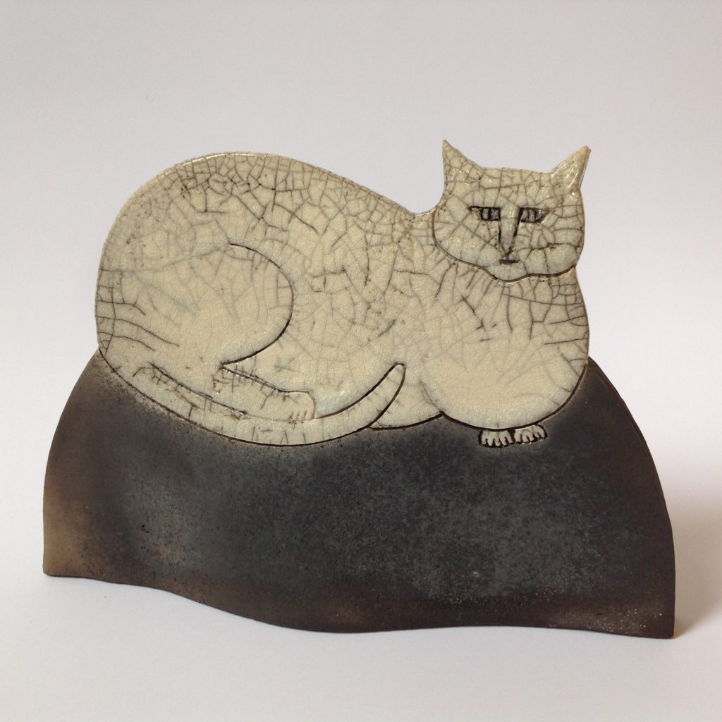 Sitting Cat in Raku