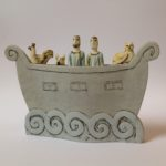 Ark in Earthenware