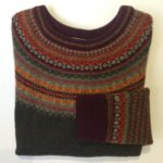 Lambswool Eribe Alpine Sweater in Autumn