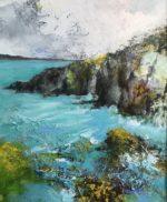 Print - Pembrokeshire Coast - Seagull Sky