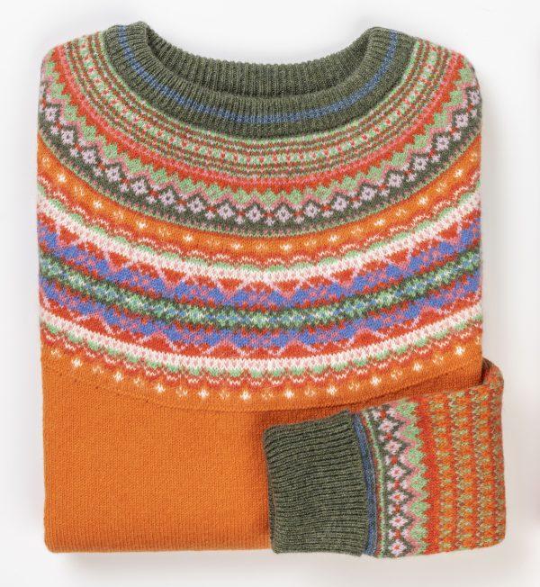 Lambswool Eribe Alpine Sweater in Hotspice