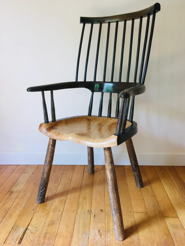 Oak Arts & Crafts Chair
