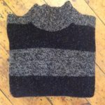 Pure Wool Wide Striped Sweater