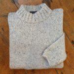 Pure Wool Plain Sweater