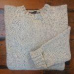 'Grey Marl' Wool Sweater