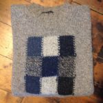 Pure Wool Oatmeal Squares Sweater