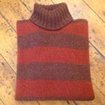 Pure Wool Polo Neck Sweater