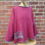 Calypso Tunic sweater in Old Rose