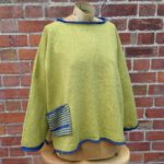 Calypso Tunic sweater in Sap