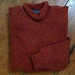 'Autumn/Russet' Wool Sweater