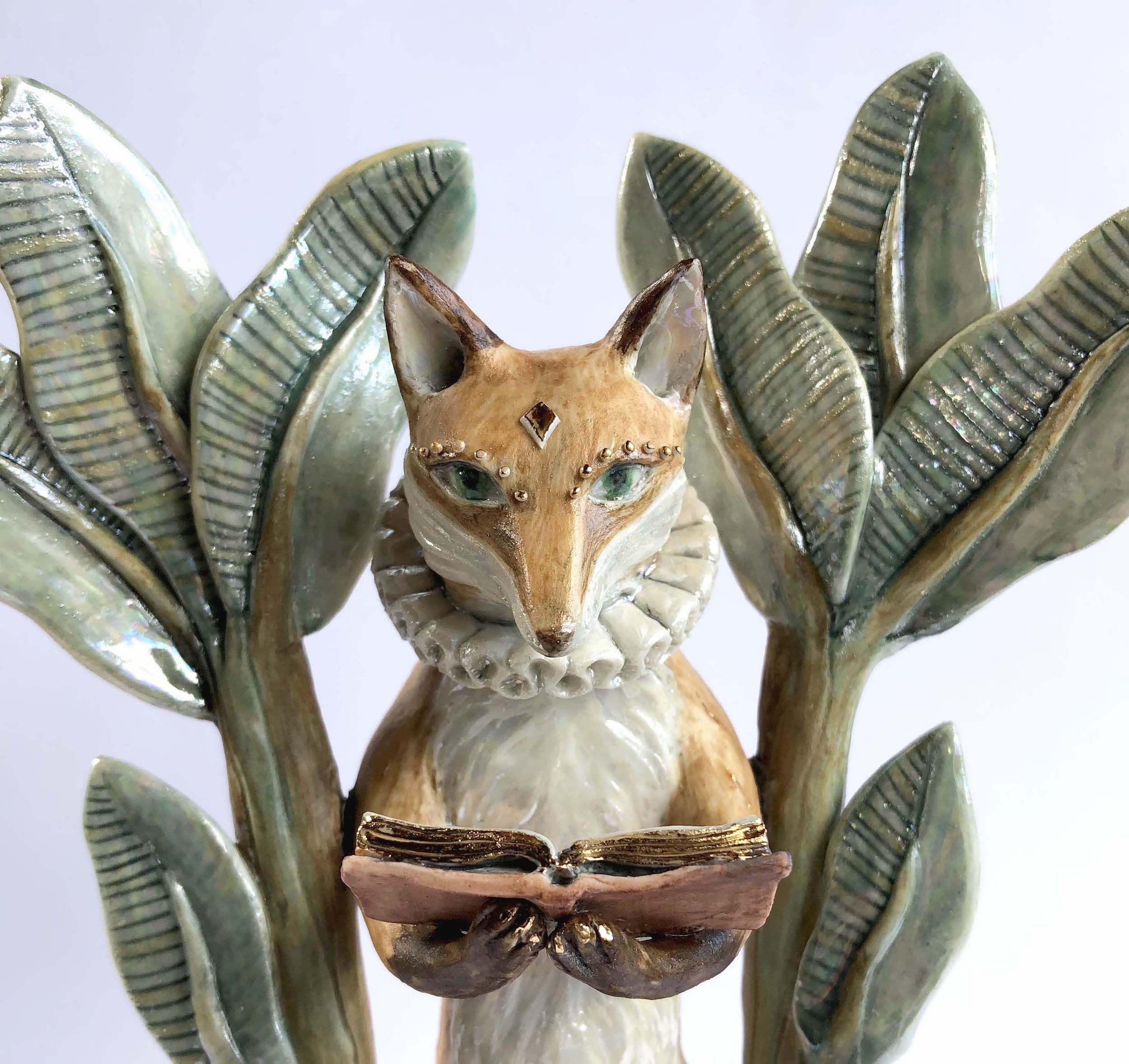 'The Guide' Ceramic Sculpture