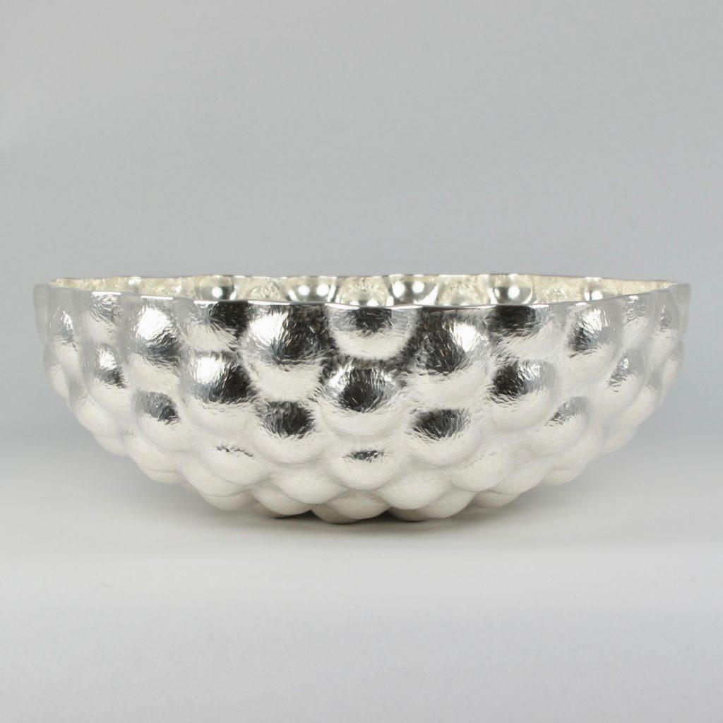 Fine Silver Bulbous Bowl