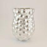 Fine Silver Bulbous Vase