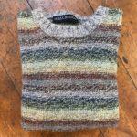 Pure Wool Unisex Reverse Stripy Sweater
