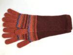 Lambswool Long Gloves in Glow