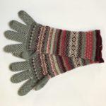 Alpine Gloves in Greyberry
