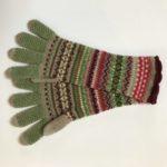 Alpine Gloves in Watercress