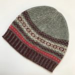 Alpine Beanie in Greyberry