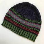 Alpine Beanie in Navy Brights