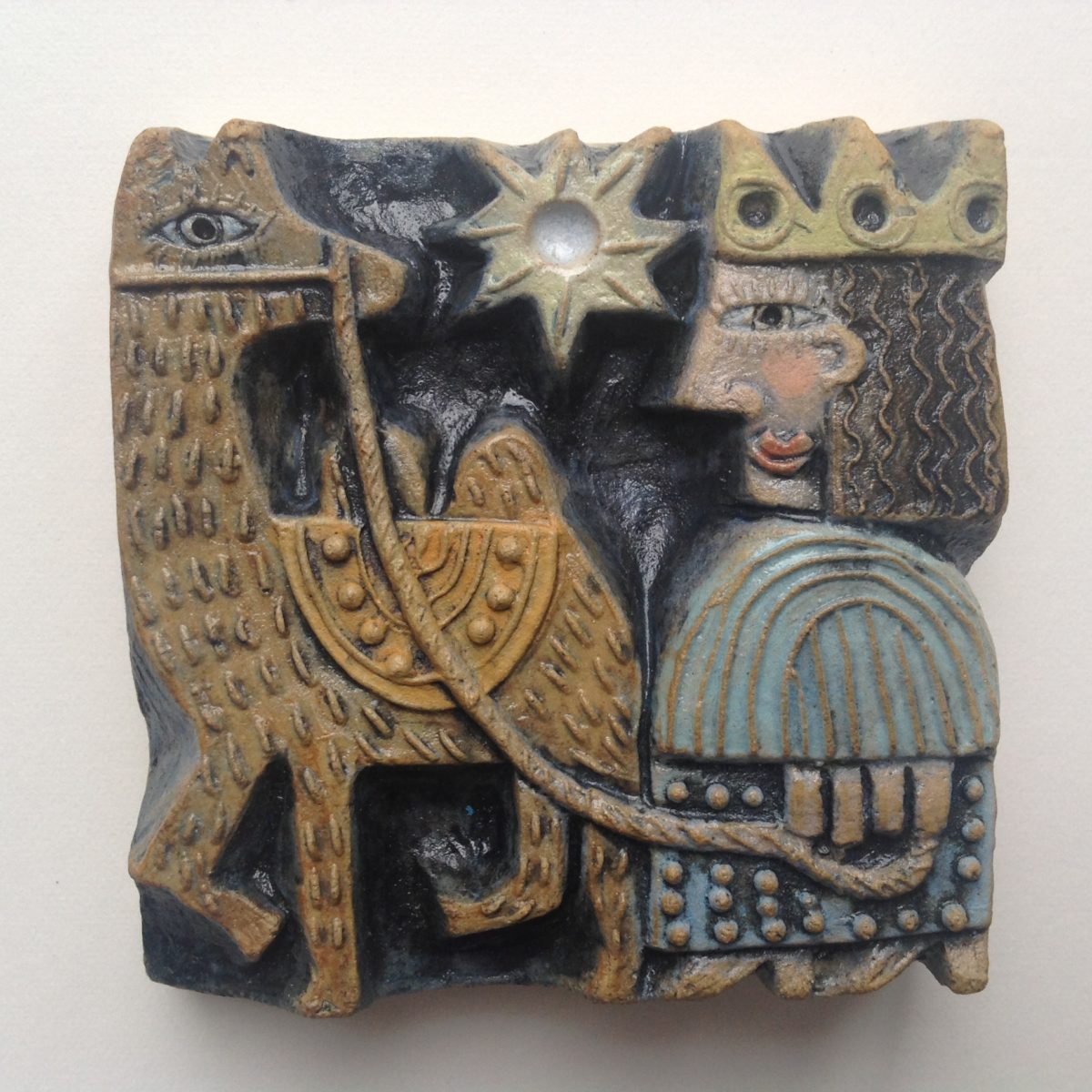 Ceramic  Relief  King