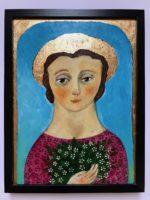 Woman with Jasmine Original Painting